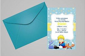 Convite 10x15 Pequeno Principe 003