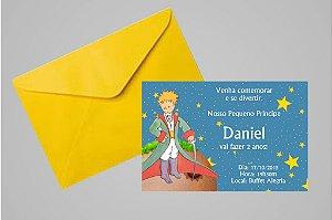 Convite 10x15 Pequeno Principe 005