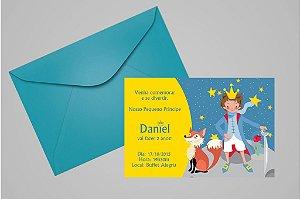 Convite 10x15 Pequeno Principe 006