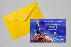 Convite 10x15 Pequeno Principe 008
