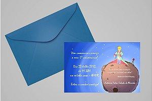 Convite 10x15 Pequeno Principe 009