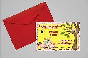 Convite 10x15 Picnic 005