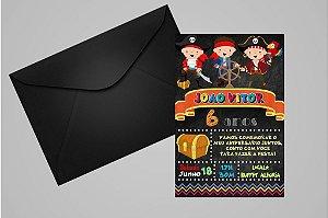 Convite 10x15 Piratas 018
