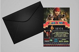 Convite 10x15 Piratas das Caraíbas 001