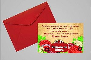 Convite 10x15 Pizza 001