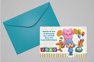 Convite 10x15 Pocoyo 002