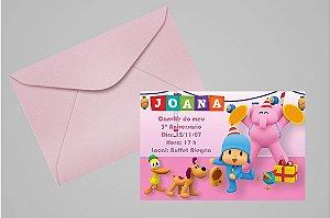 Convite 10x15 Pocoyo 008