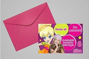 Convite 10x15 Polly 001 com foto