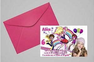 Convite 10x15 Polly 002 com foto