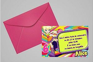 Convite 10x15 Polly 005
