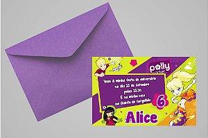 Convite 10x15 Polly 007