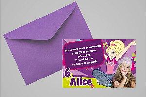 Convite 10x15 Polly 008 com foto
