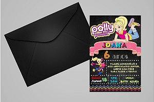 Convite 10x15 Polly 009