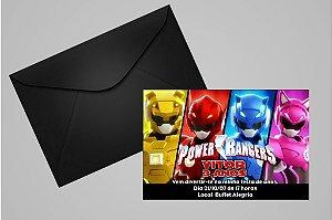 Convite Power Rangers 004