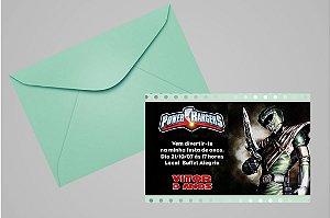 Convite Power Rangers 006