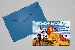 Convite 10x15 Rei Leão 002