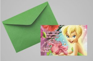 Convite 10x15 Sininho 021
