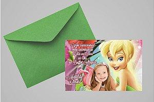 Convite 10x15 Sininho 021 com foto
