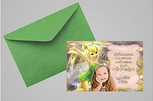 Convite 10x15 Sininho 022 com foto