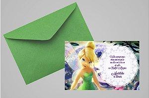 Convite 10x15 Sininho 011