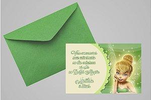 Convite 10x15 Sininho 020