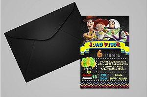 Convite 10x15 Toy Story 009