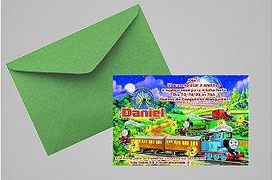 Convite 10x15 Thomas e Seus Amigos 002