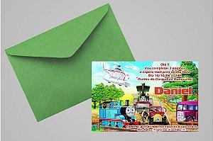 Convite 10x15 Thomas e Seus Amigos 003