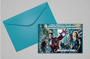 Convite 10x15 Vingadores 002