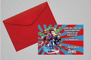 Convite 10x15 Vingadores 004