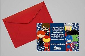 Convite 10x15 Vingadores 005