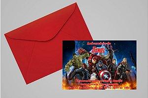 Convite 10x15 Vingadores 006