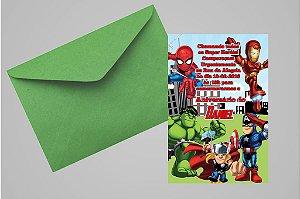 Convite 10x15 Vingadores 008