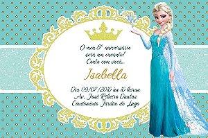 Convite digital personalizado Frozen 015