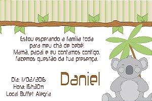 Convite digital personalizado para Chá de Bebê 025