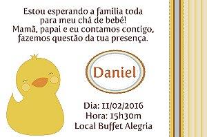 Convite digital personalizado para Chá de Bebê 026