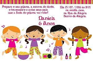Convite digital personalizado Festa do Pijama 003