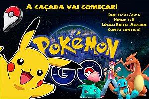 Convite digital personalizado Pokémon GO 011