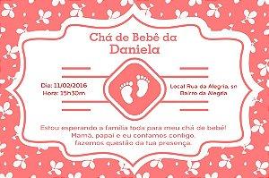 Convite digital personalizado para Chá de Bebê 038