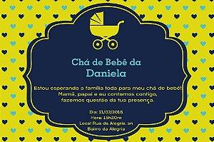 Convite digital personalizado para Chá de Bebê 043