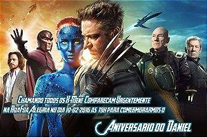 Convite digital personalizado X-Men 008