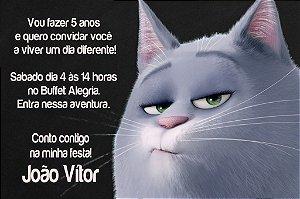 Convite digital personalizado Pets - A Vida Secreta dos Bichos 006