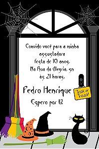 Convite digital personalizado Halloween 001