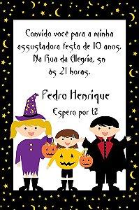 Convite digital personalizado Halloween 003