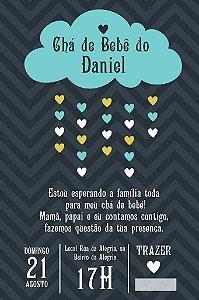 Convite digital personalizado para Chá de Bebê 047