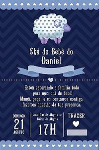 Convite digital personalizado para Chá de Bebê 051