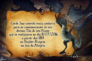 Convite digital personalizado Game Of Thrones 003