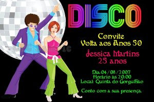 Convite digital personalizado Festa Anos 60 002