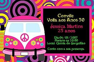 Convite digital personalizado Festa Anos 60 003