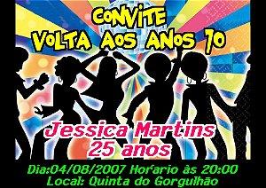 Convite digital personalizado Festa Anos 70 003